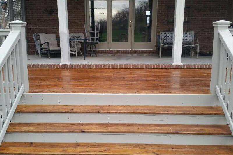 Sikkins deck stain